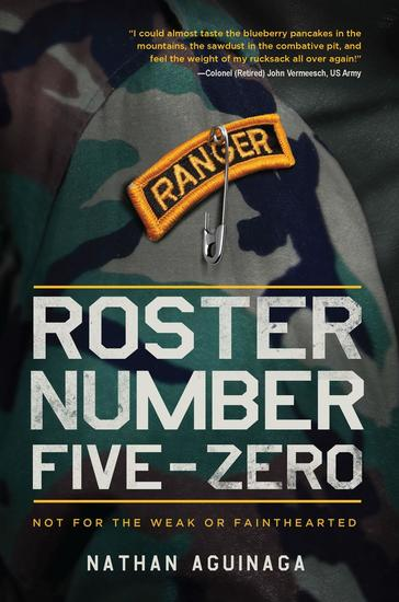 Roster Number Five-Zero - Not for the Weak or Fainthearted - cover