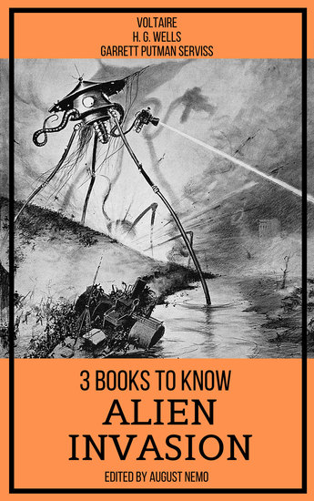 3 books to know Alien Invasion - cover