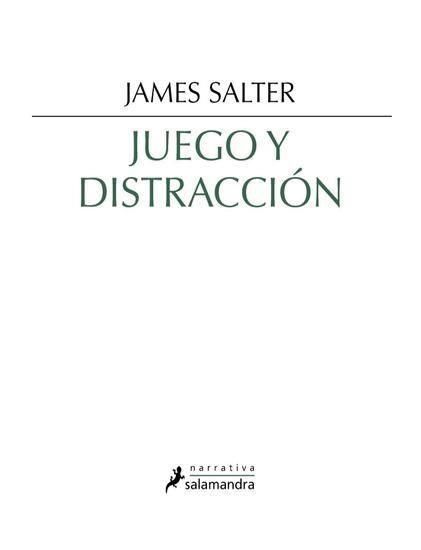 Juego y distracción - cover