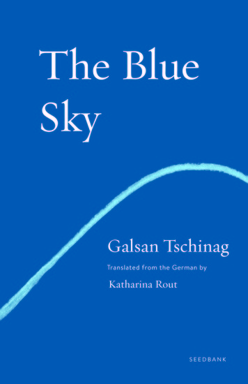 The Blue Sky - A Novel - cover