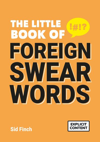 The Little Book of Foreign Swearwords - cover