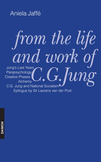 From the Life and Work of C G Jung - cover