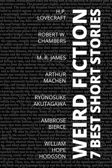 7 best short stories - Weird Fiction - cover
