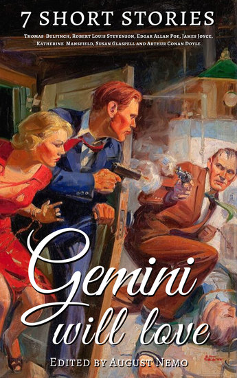 7 short stories that Gemini will love - cover