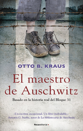 El maestro de Auschwitz - cover