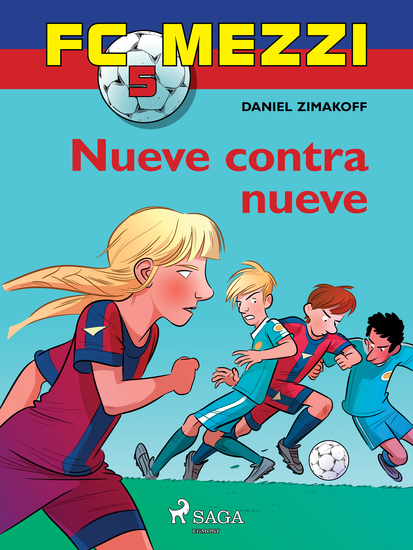 FC Mezzi 5: Nueve contra nueve - cover