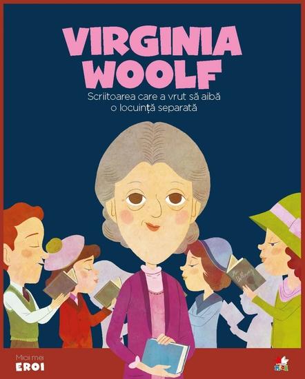 Micii eroi - Virginia Woolf - cover