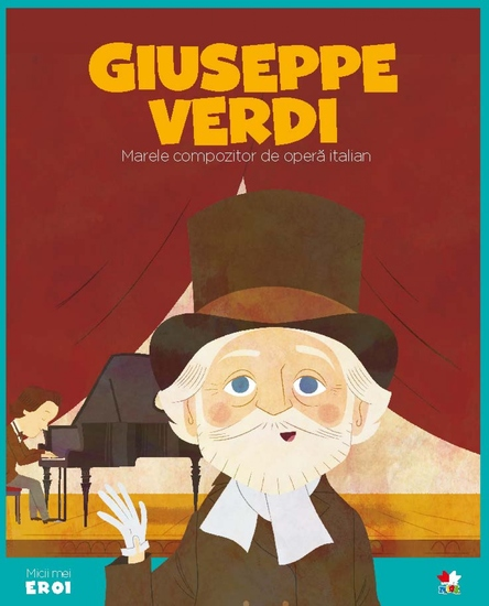 Micii eroi - Jiuseppe Verdi - cover