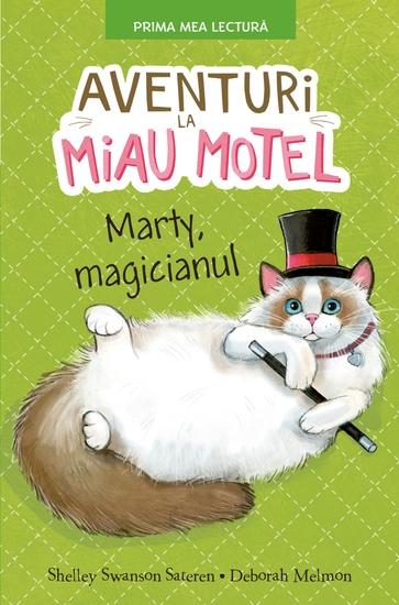 Aventuri La Miau Motel - Marty Magicianul - cover
