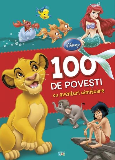 100 de povești cu aventuri uimitoare - cover