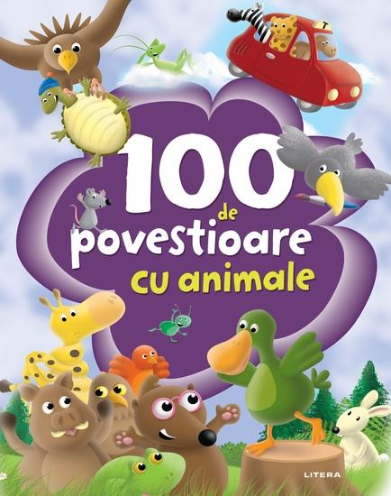 100 de povestioare cu animale uimitoare - cover