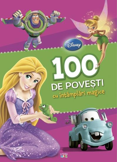 100 de povesti cu intamplari magice - cover