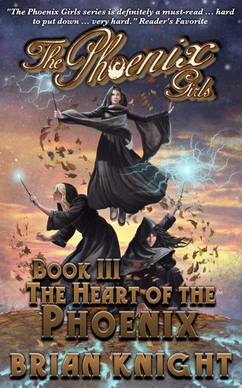The Phoenix Girls Book 3 - The Heart of the Phoenix - cover