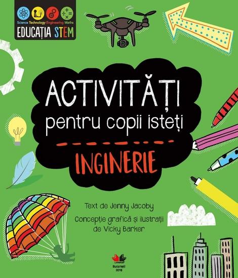 Activități pentru copii isteți Inginerie - cover