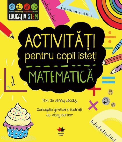 Activități pentru copii isteți Matematică - cover