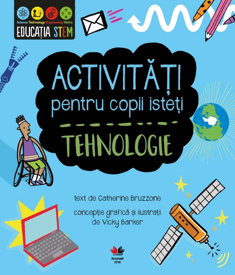 Activități pentru copii isteți Tehnologie - cover