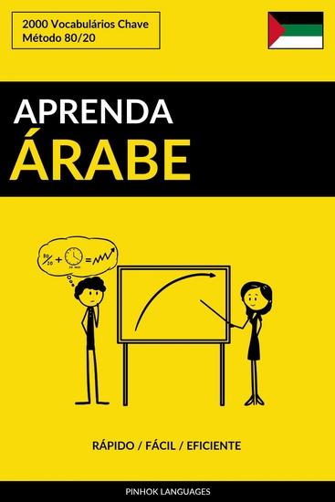 Aprenda Árabe - Rápido Fácil Eficiente - 2000 Vocabulários Chave - cover
