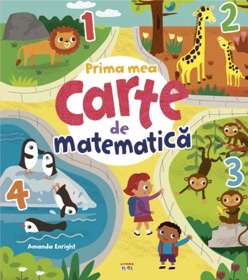Prima mea carte de matematică - cover