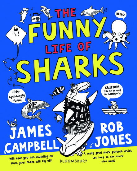 The Funny Life of Sharks - cover