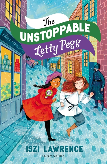 The Unstoppable Letty Pegg - cover