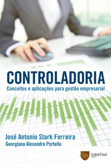 Controladoria - Conceitos e Aplicações Para Gestão Empresarial - cover