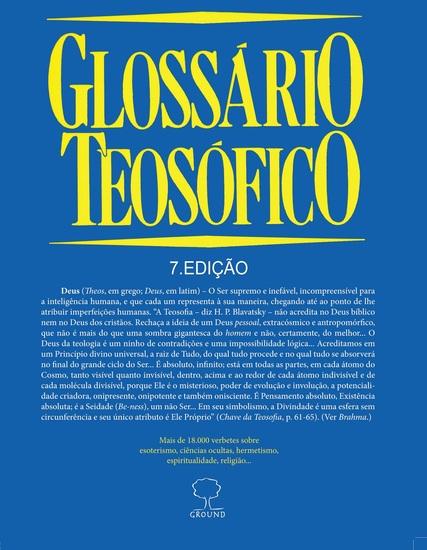 Glossário Teosófico - cover