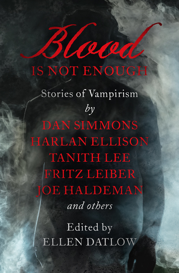 Blood Is Not Enough - Stories of Vampirism - cover