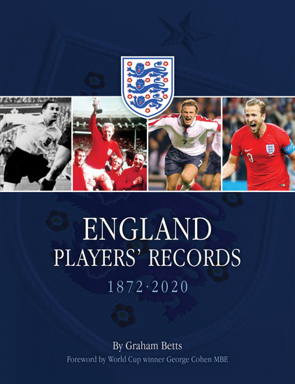 England Players' Records - 1872 - 2020 - cover