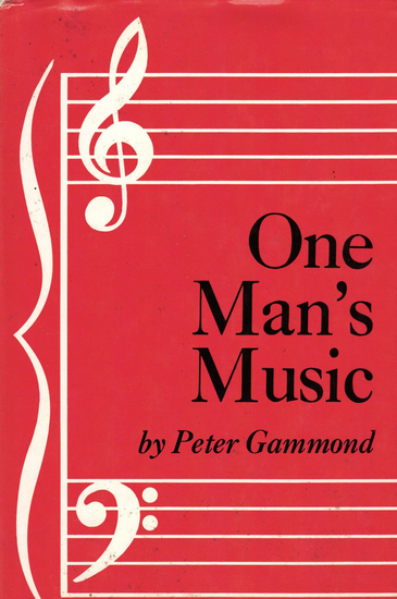 One Man's Music - cover