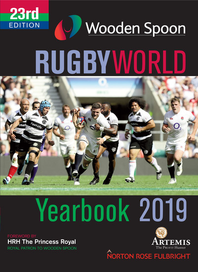 Wooden Spoon Rugby World Yearbook 2019 - cover