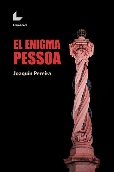 El enigma Pessoa - cover