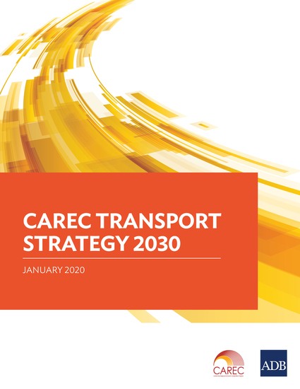CAREC Transport Strategy 2030 - cover