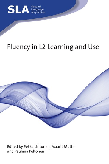 Fluency in L2 Learning and Use - cover