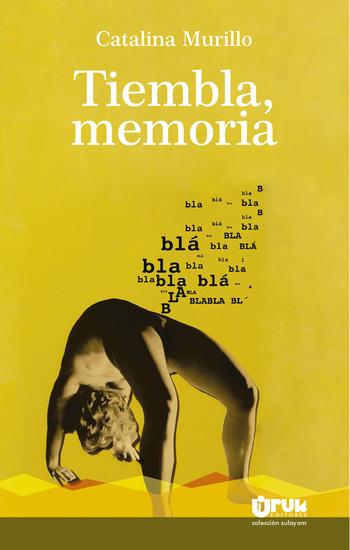 Tiembla memoria - cover
