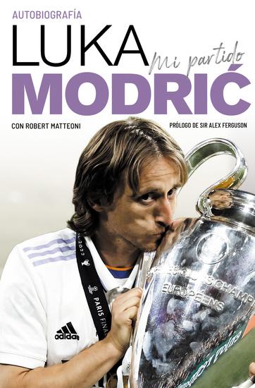 Mi partido La autobiografía de Luka Modrić - cover