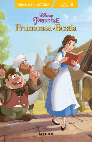 Invăț Să Citesc - Nivelul 3 - Frumoasa Si Bestia - cover