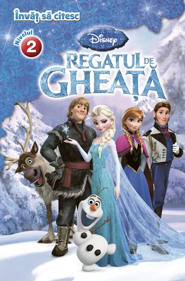 Învăț să citesc Niv 2 Regatul de gheață - cover