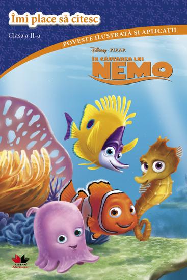 Disney - in Cautarea Lui Nemo Imi Place Sa Citesc Clasa a Ii-a - cover