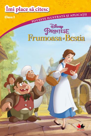 Frumoasa Si Bestia Imi Place Sa Citesc Clasa I - cover