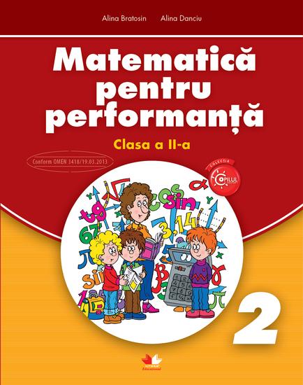 Matematica Pentru Performanta Clasa a II-a - cover