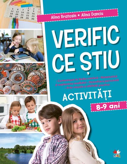 Verific Ce Stiu Activitati Scolare 8-9 Ani - cover
