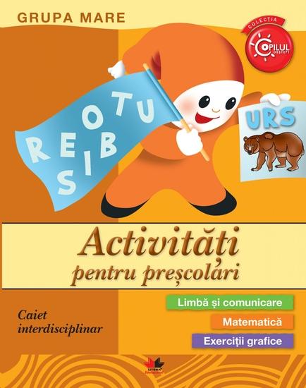 Activitati Pentru Prescolari Grupa Mare - cover