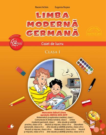 Limba Moderna Germana Caiet De Lucru Clasa I - cover