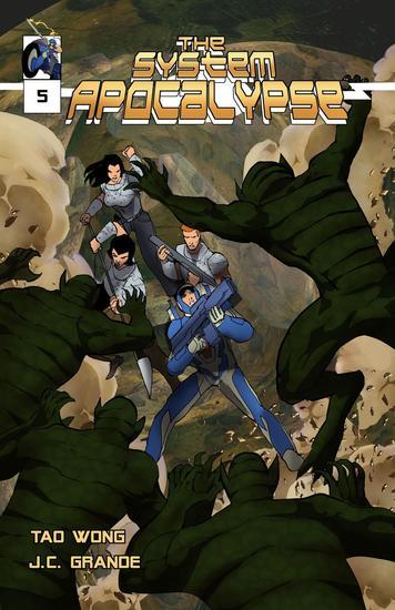 System Apocalypse Issue 5 - System Apocalypse Comics #5 - cover
