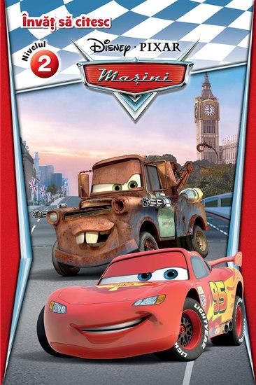 Invat sa citesc - N2 - Masini Disney - cover