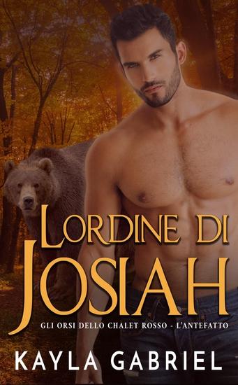 L'ordine di Josiah - cover