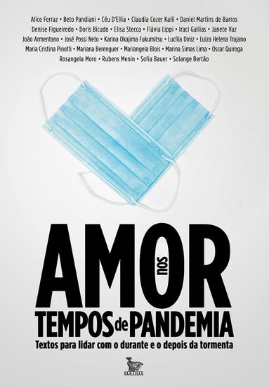 Amor nos tempos de pandemia - cover