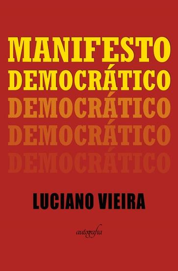 Manifesto democrático - cover