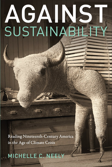 Against Sustainability - Reading Nineteenth-Century America in the Age of Climate Crisis - cover