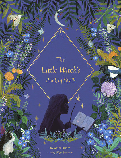 The Little Witch's Book of Spells - cover